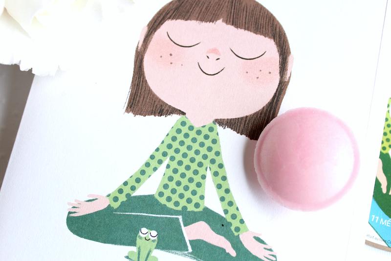 calme et attentif comme une grenouille méditation enfants