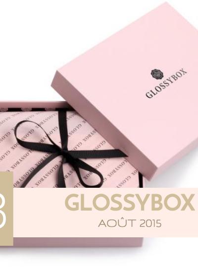 La Glossybox d'août 2015