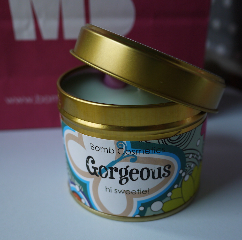 bomb cosmetics bougie gorgeous
