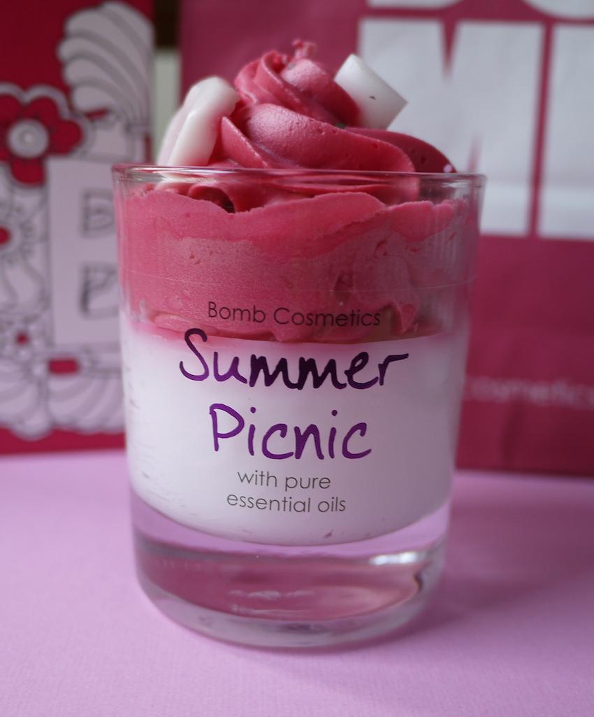 bomb cosmetics summer picnic