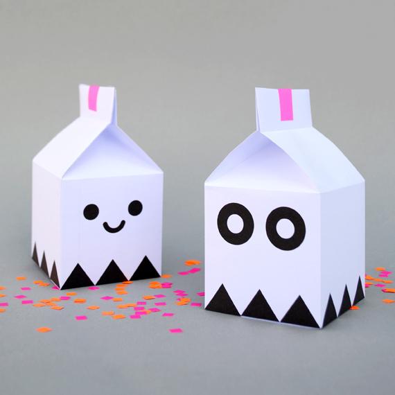 boites halloween gratuits imprimer