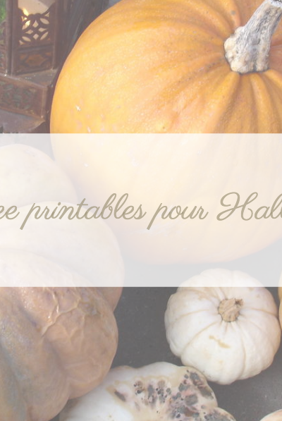 Free Printables Halloween