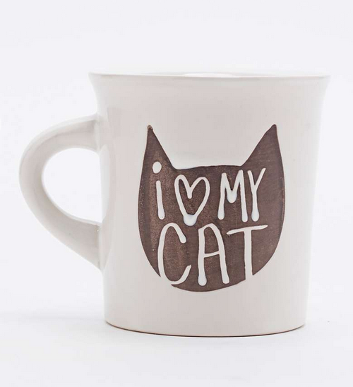 mug i love my cat