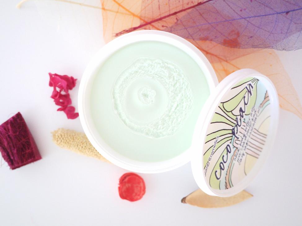 coco beach body butter bomb cosmetics