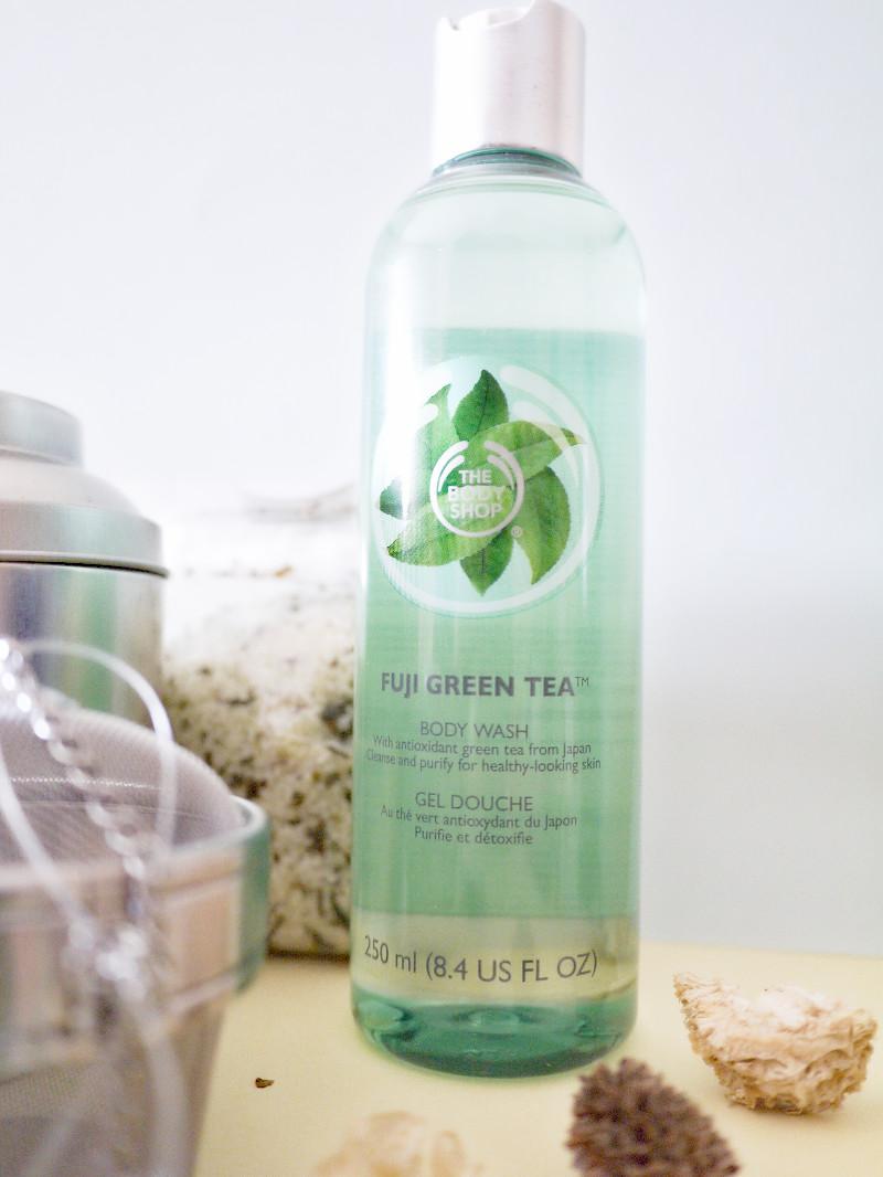 green tea body shop