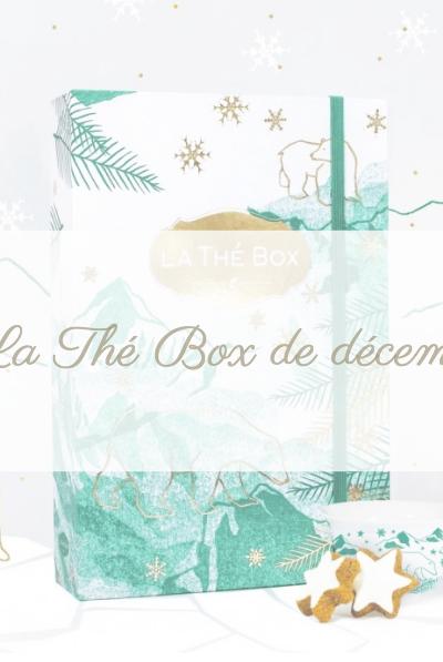 La thé box de décembre