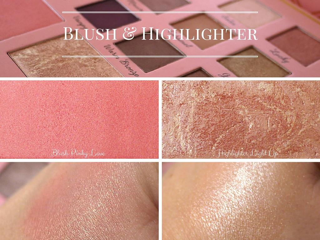 blush highlighter elsamakeup swatchs