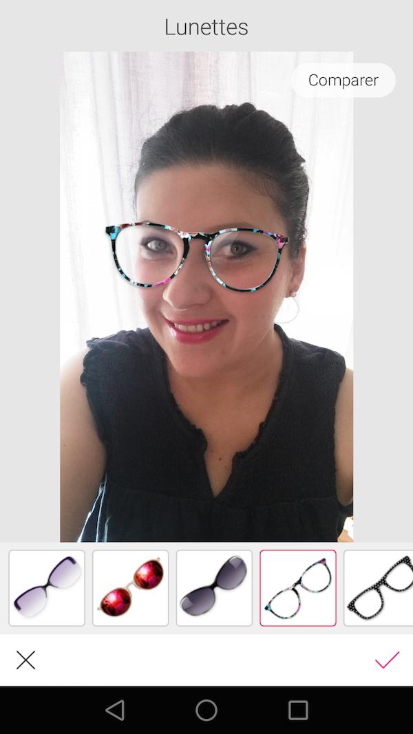 Test lunettes et montures avant achat