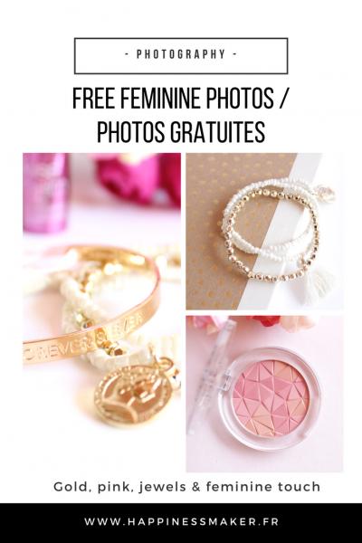 free feminine styled stock photo gratuite blog rose pink girly