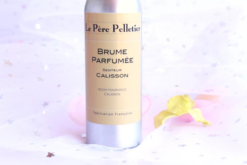 Le Père Pelletier et sa brume parfumée au calisson !
