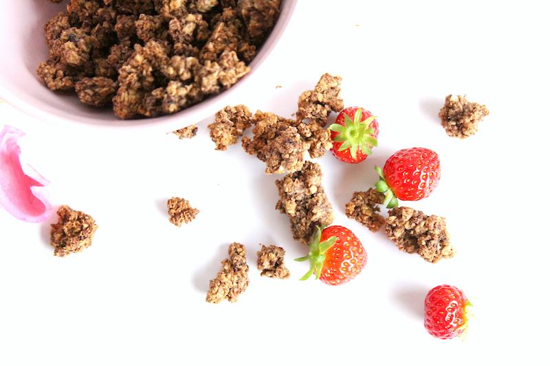 faire son granola muesli maison