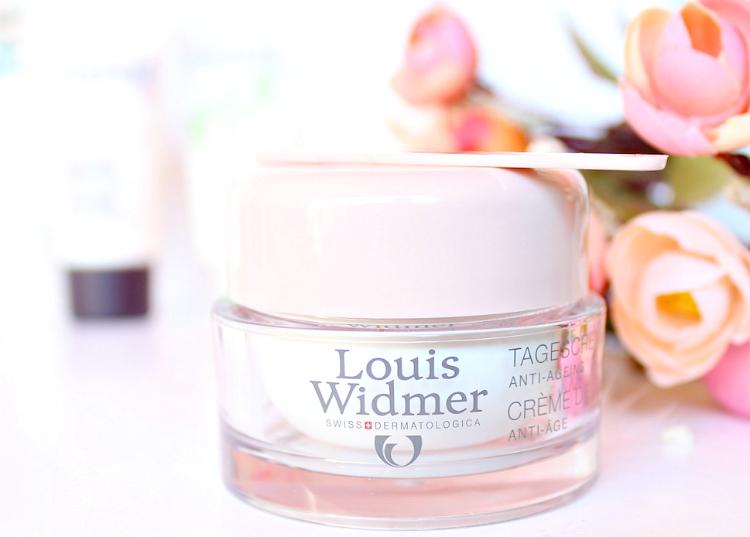 crème de jour anti-âge Louis Widmer