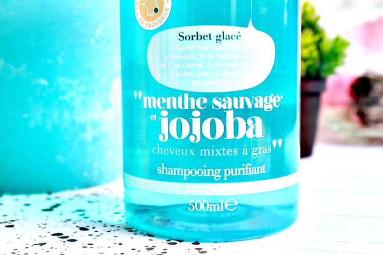 shampoing menthe purifiant energie fruit