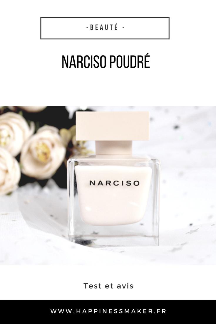 aeau de parfum poudrée de Narciso Rodriguez