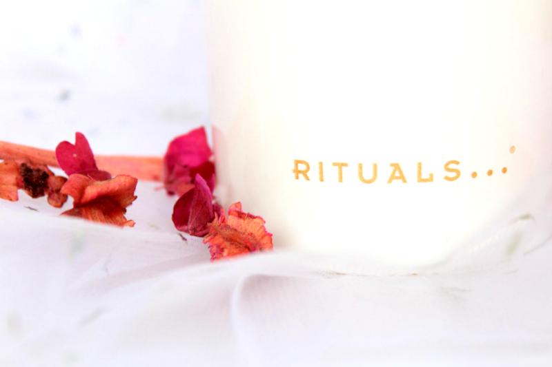 Bougie Rituals avis Indian rose