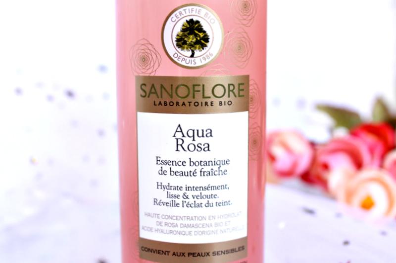 Aqua rosa Sanoflore test et avis