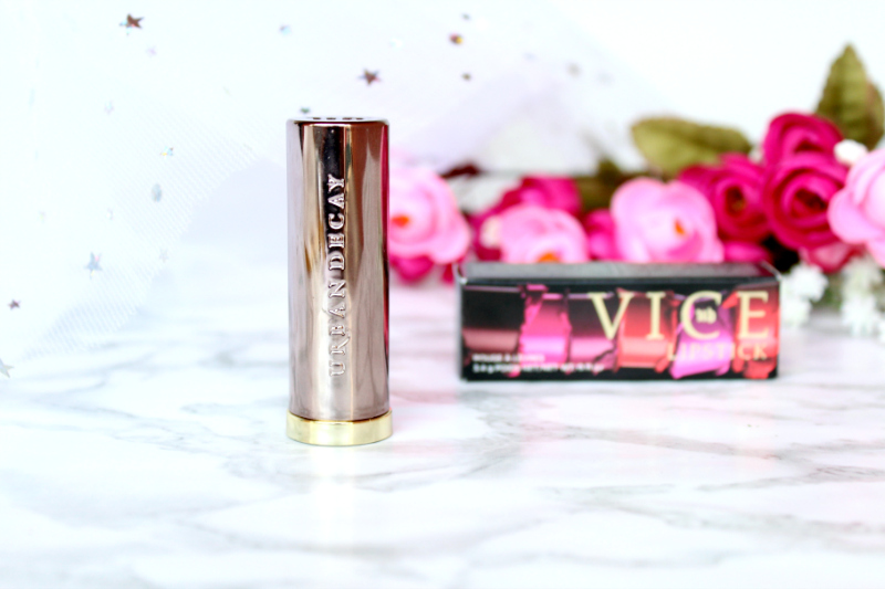 vice lipstick Bakctalk urban decay swatch