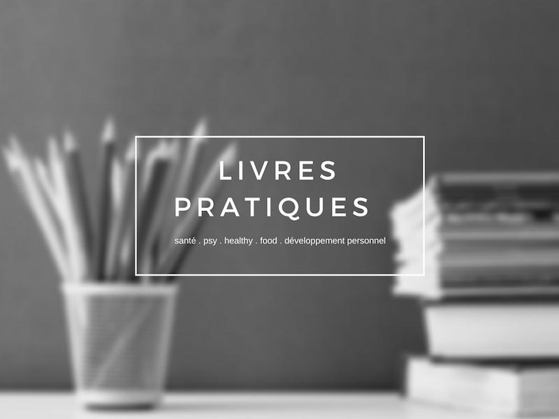 livres healthy, tendances, sport, food, développement personnel, psy, livres inspirants