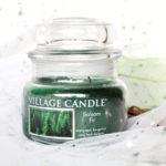 Bougie Balsam Fir beau sapin village candle