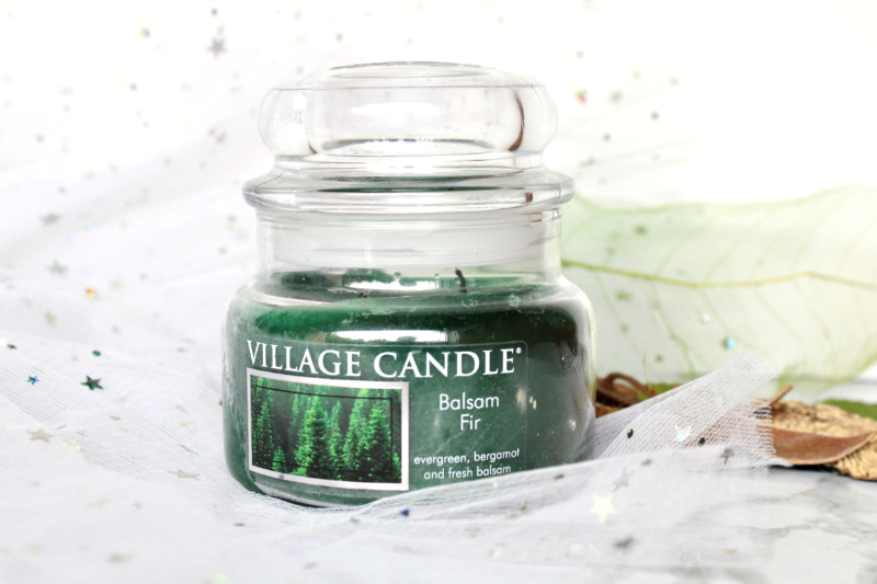Bougie Balsam Fir beau sapin village candle