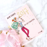 Mon cahier 2017 solar agenda girly