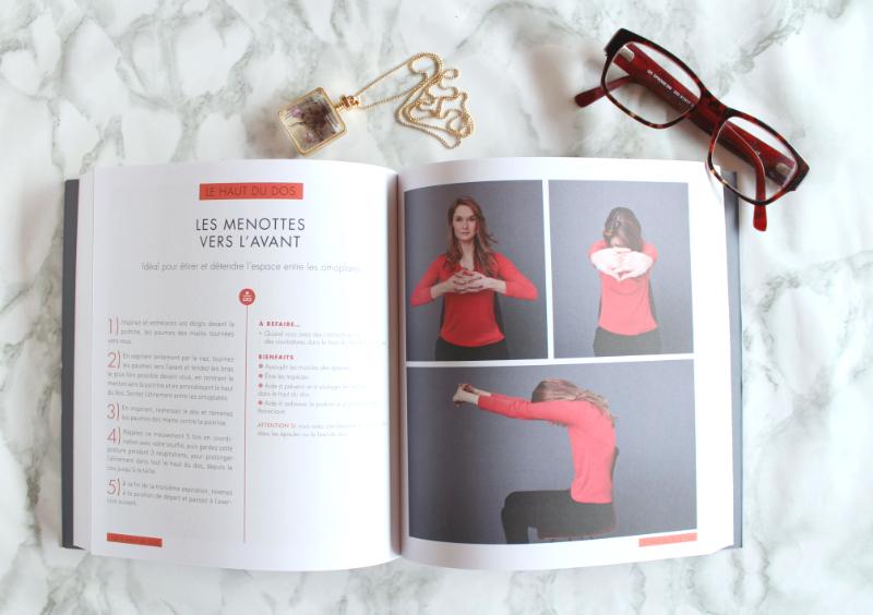 yoga au bureau yogist livre