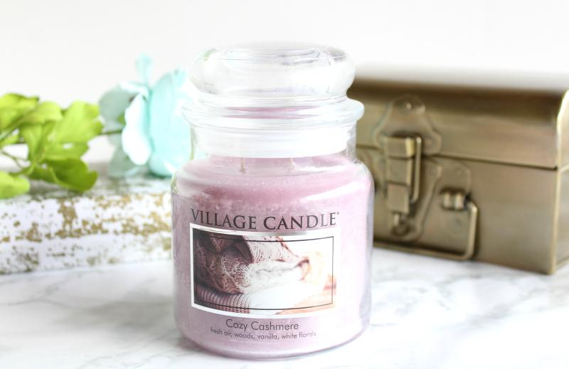bougie cachemire parfumee village candle
