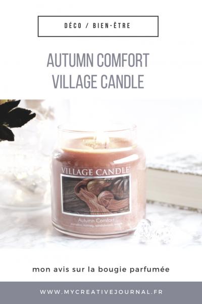 Bougie parfumée autumn comfort village candle
