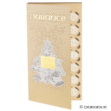 Calendrier avent 2016 bougie Durance