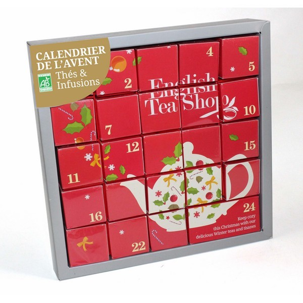 Calendrier thé bio 2016 English tea shop