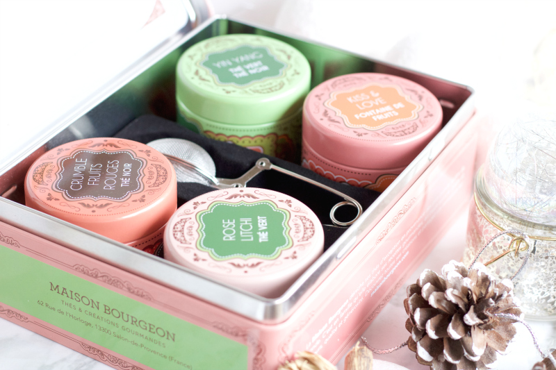 coffret rose thé passion Maison Bourgeon