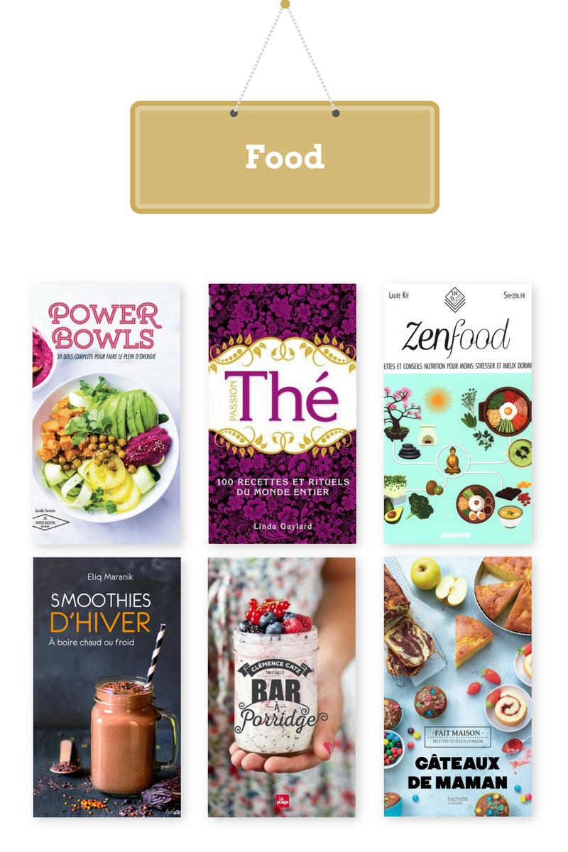 idee cadeaux livres cuisine