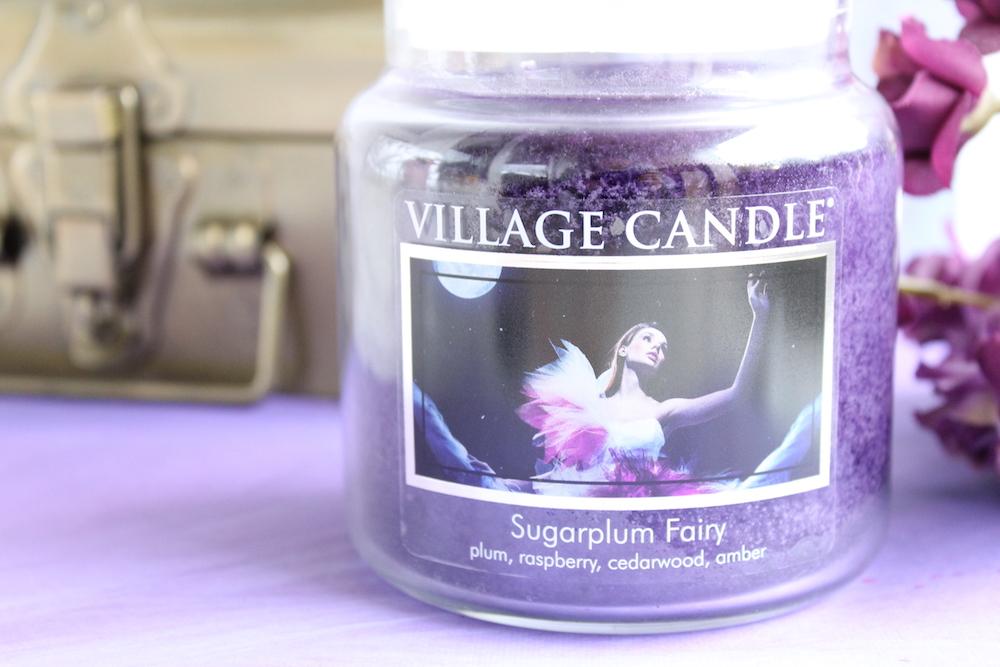La bougie Sugarplum Fairy de Village Candle