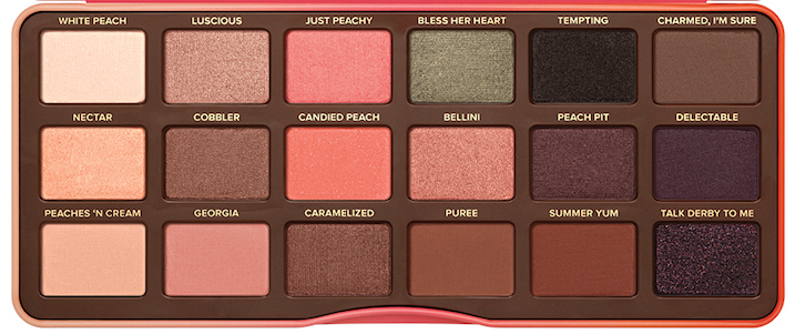 sweet peach dupe palette too faced