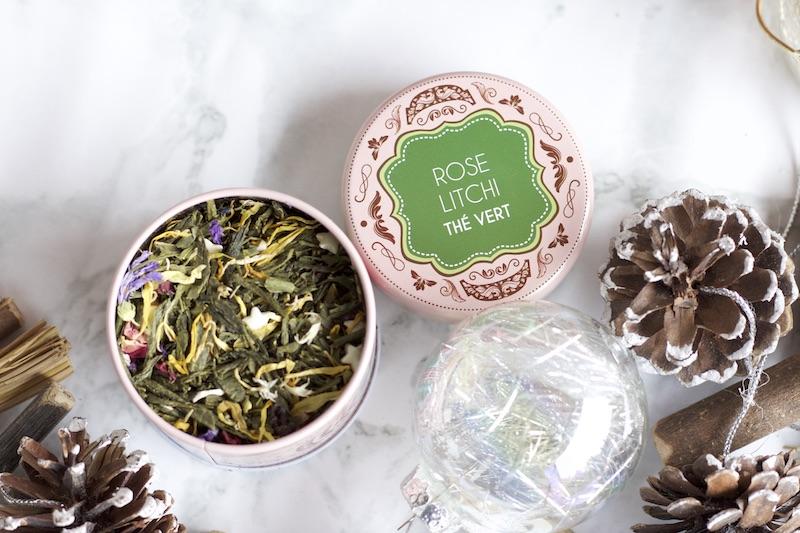 thé vert rose litchi maison bourgeon