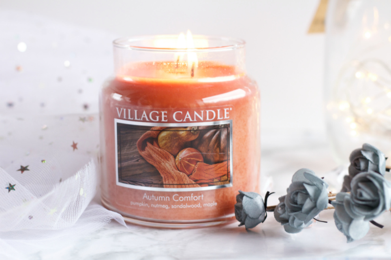 village candle bougie autumn comfort