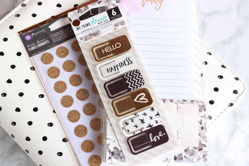 accessoires planners gold