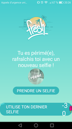 application fresh rencontre meetic