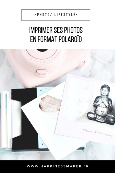 faire imprimer ses photos au format polaroïd