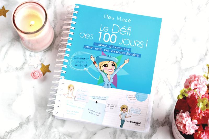 cahier du défi des 100 jours Lilou Macé
