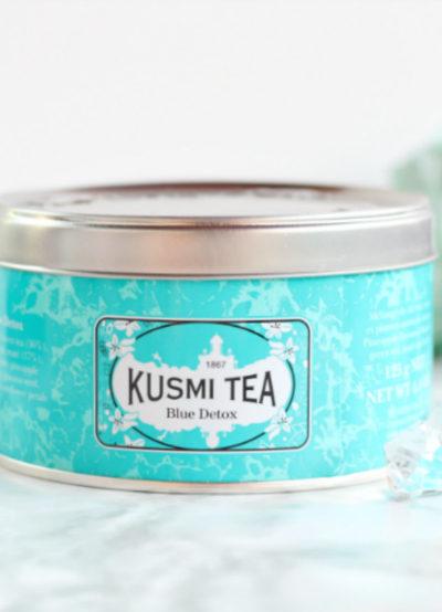 Blue Détox de Kusmi Tea : Le thé ensoleillé !