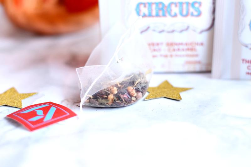 thé caramel circus KY TEA