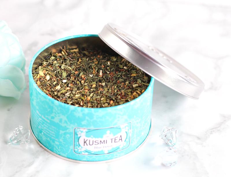 thé blue détox de kusmi tea