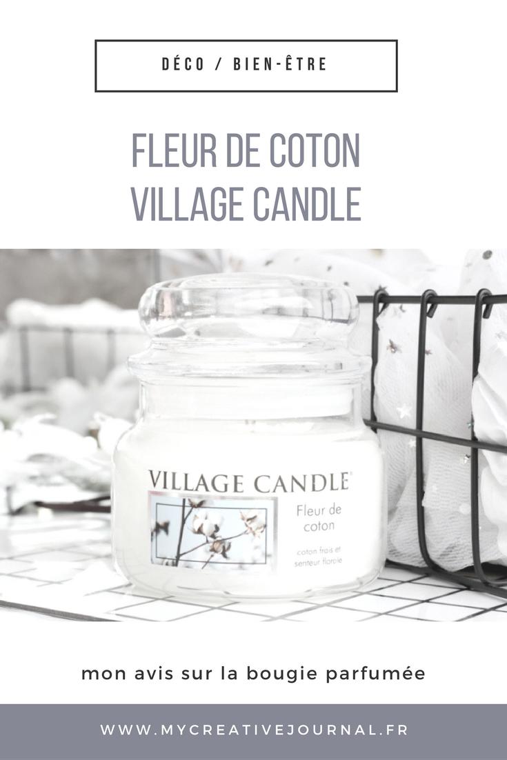 Fleur De Coton La Bougie Poudree De Village Candle Happiness Maker