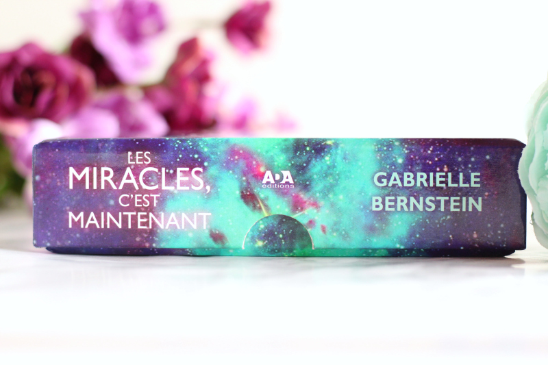 Cartes affirmation Miracles Now