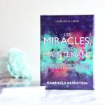Cartes Les miracles c'est maintenant - Miracles Now cards