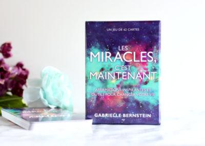Cartes Miracles Now ! Les miracles c'est maintenant