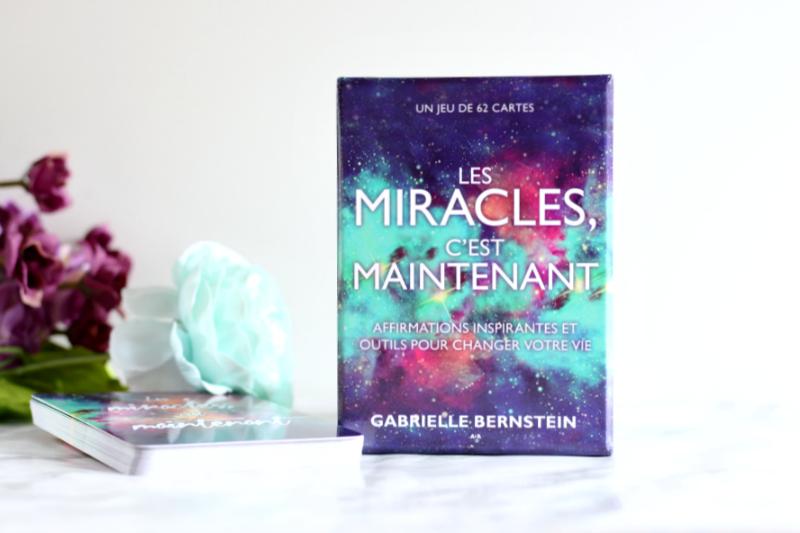 Cartes les Miracles c'est maintenant
