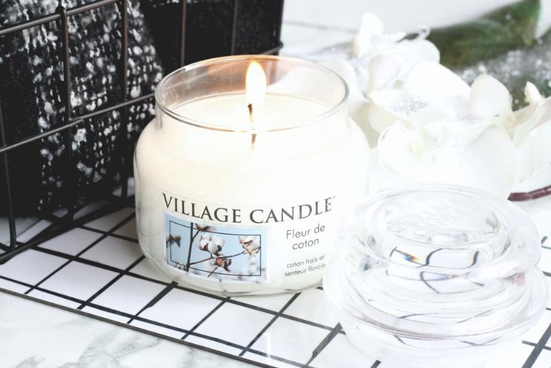 Fleur de coton Village Candle
