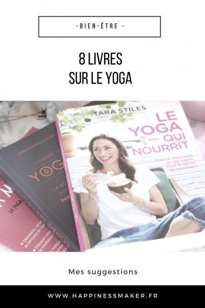 livres sur le yoga pour débutants